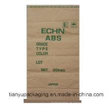 Cusomized Seam Bottom Kraftpapier Tasche