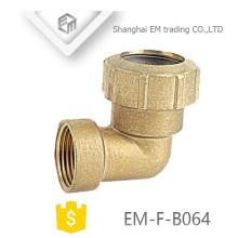 ЭМ-Ф-B064 водопроводным 90 градусов с внутренней резьбой и сжатие сустава Испании сторона