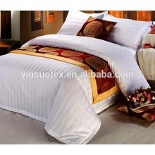 Branco luxo hotel 5 estrelas cama folha hotel duvet cover