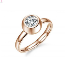 Wholesale cheap custom high quality stainless steel interchangeable ring