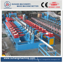 C/Z Section Steel and Metal Interchangeable Roll Forming Machinengeable Roll Forming Machine