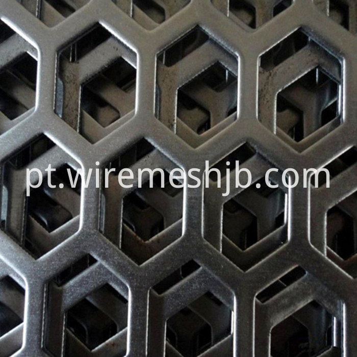 Hexagonal Perforated Metal