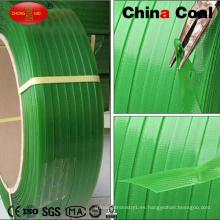 Precio barato PP banda banda uso para la máquina de embalaje