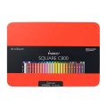 Andstal Professional Square Rod 24 Color Colored Pencils Set Art Supplies For School