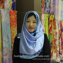 2014 hijab de seda del nuevo estilo de seda turco del abaya hijab turco al por mayor