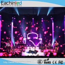Grands rideaux LED d'affichage de scène d'échelle pour le fond d'étape