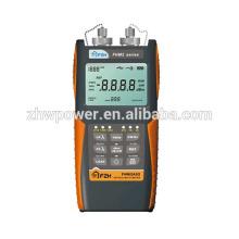 Mètre de puissance optique FHP2A02, Power Meter, FHP2A02 Détecteur de puissance optique Mètre de lumière + Source de lumière rouge