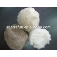lana de cachemira sin procesar de lana de alta calidad dehaired