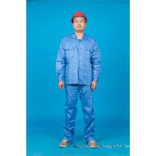 Ropa de trabajo de manga larga de algodón 65% poliéster 35% de alta calidad (BLY2004)