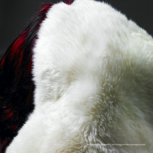 Venta al por mayor Snow White Australian Lamb Skin