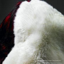 Wholesale Blanche-Neige Blanc Agneau Peau