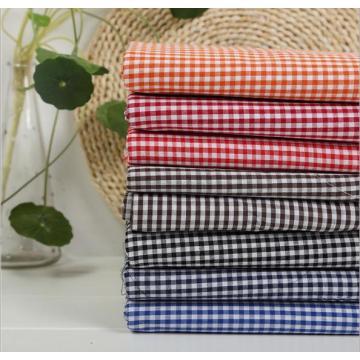 Tissu de doublure teint par tissu de chemise de contrôle de fil de T / C 80/20