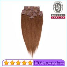 Clip Hair Virgin Brazilian Human Hair Clip Hair Extension Remy Hair