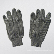 10oz Grey String Knit Cotton Working Glove--2103