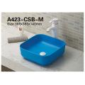 Sanitary Ware China Manufacturer Ceramic Above Counter Art Basin