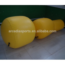 Rodillo inflable de la yoga del ejercicio del rodillo casero de la aptitud de la gimnasia