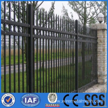 Strong wrought iron fence