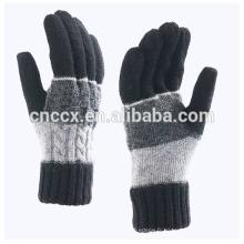 P18C01TR hommes automne hiver mode 100% gant de cachemire