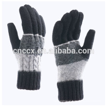 Moda masculina de outono inverno moda P18C01TR 100% cashmere luva