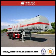 El fabricante chino ofrece el transporte del tanque de 21400L SUS, semirremolque de los cargamentos peligrosos