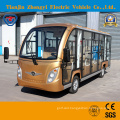 Chinese 14 Seats Enclosed Electric Sightseeing Bus