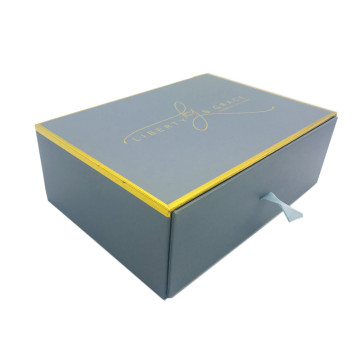 Special for Electronics Product  Paper Drawer Box drawer gift packaging box with lint supply to Indonesia Importers