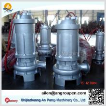 Anti-corrosif Abrasion Acier inoxydable Eau chimique Pompe submersible