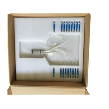 Tubo de aço Sc / Upc Conector 1 * 8 PLC Splitter