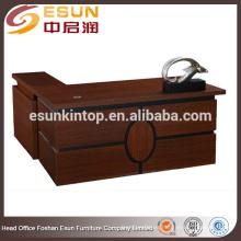 Escritorio de muebles de oficina de madera