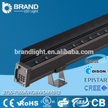 Outdoor 60w high power dmx rgb linear led wall washer 4ft led wall washer