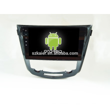 Quad core! Android 4.4 / 5.1 dvd de voiture pour QASHQAI / X-TRAIL avec l'écran capacitif de 10,1 pouces / GPS / lien de miroir / DVR / TPMS / OBD2 / WIFI / 4G
