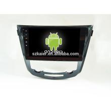 Quatro núcleos! Android 4.4 / 5.1 carro dvd para QASHQAI / X-TRAIL com 10.1 polegadas Tela Capacitiva / GPS / Link Espelho / DVR / TPMS / OBD2 / WIFI / 4G