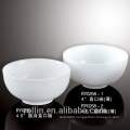 Durable porcelain white round rice bowl,sample available
