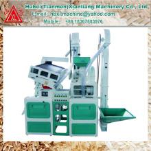 Seul fabricant de CTNM15 mini machine de moulin à riz automatique combiné