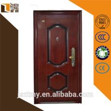 Aus stabilem Edelstahl Blatt moderne Feuerschutz Tür, Stahl-Sicherheitstüren