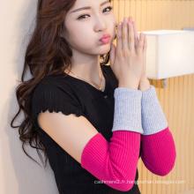 2017 à la mode pas cher mince tricoté hiver main gants en cachemire