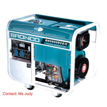 Bn5800dce/C Diesel Generators Open Frame Air-Cooled 5W 186f Pressure Splashed