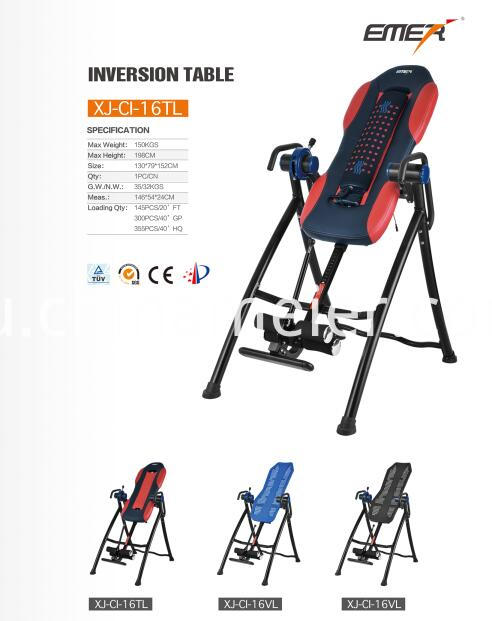 PU Back Inversion Table