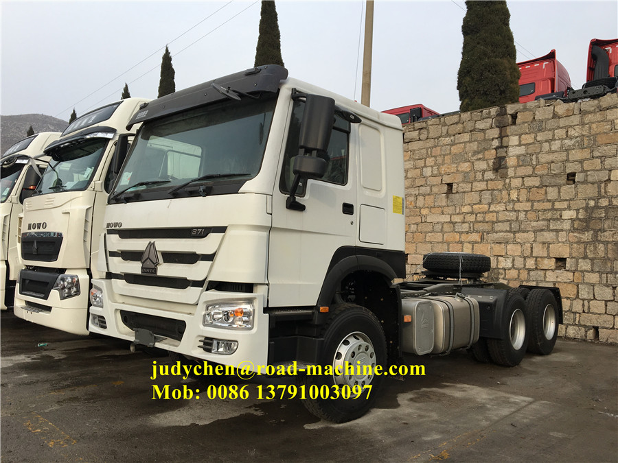 10 Tires Sinotruk Howo Tractor Truck