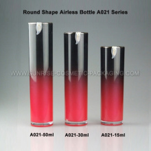 15ml 30ml 50ml runde Form Airless Foundation Flasche