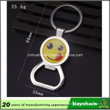 Smiling Face Opener Keychain