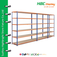 Retail shelving light duty shelving