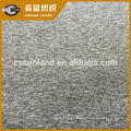 87% polyester 13% spandex melange single jersey brushed fleece fabric