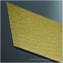 3 / 4mm gebürstet beschichtet / konfrontiert acp / acm board hochbau Material mit guten preis