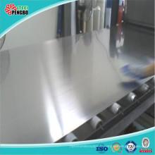 304 tôle d'acier inoxydable de miroir avec de haute qualité