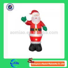 Papá Noel móvil inflable de precio de fábrica