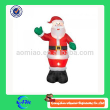 Inflatable moving Santa Clause from Factory Price
