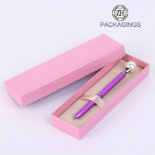 Pink+color+cardboard+pen+gift+box+packaging+new