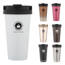 Travel Coffee Mug Thermo Mug Coffee Cup Thermo Cup Vacuum Mug Travel Coffee Cups 500ml New
