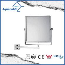Wall-Mounted Brass Square Bathroom Mirror (AA6022)
